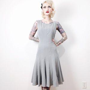 Calvin Klein Gray Swing Dress 14
